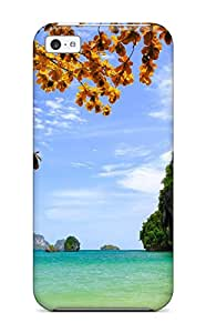 Queenie Shane Bright's Shop Best Premium Tropical Heavy-duty Protection Case For Iphone 5c 2245252K52772411