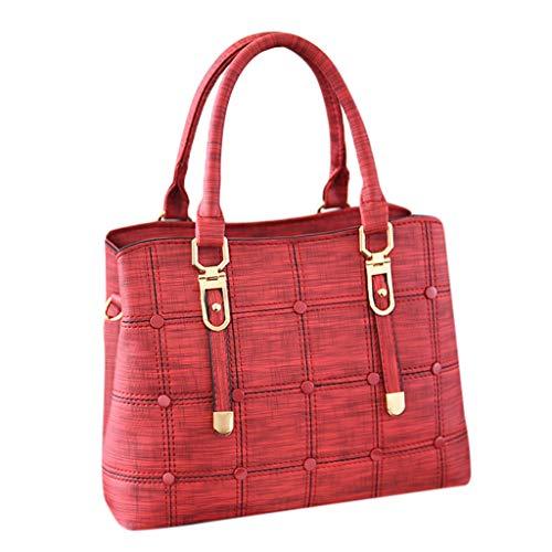 DDKK bags Handbags for Women Uncle.Y Shoulder Laptop Tote Zipper Satchel PU Leather Crossbody Bag for Office College
