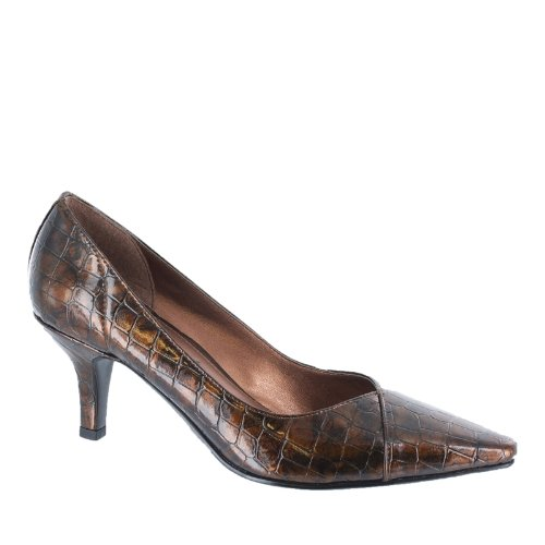 Easy Street - Zapatos de vestir para mujer, color marrón, talla 43.5