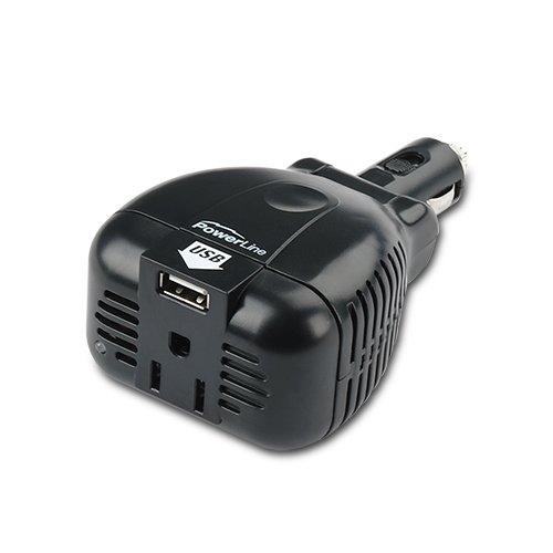 PowerLine 140/200 Watt Mobile Inverter with USB Power Port 90307