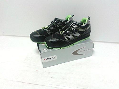 Cofra santelli S1P Src pares de zapatos de seguridad de tamaño 45Negro