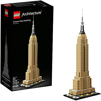 1767-Pieces LEGO Architecture Empire State Building Kit