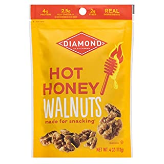 Diamond of California Hot Honey Walnuts, 4 Ounce