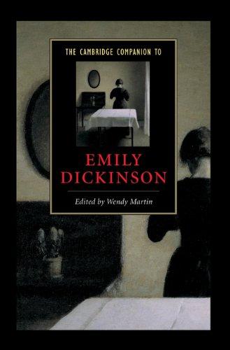 Handbook Emily Dickinson - The Cambridge Companion to Emily Dickinson (Cambridge Companions to Literature)