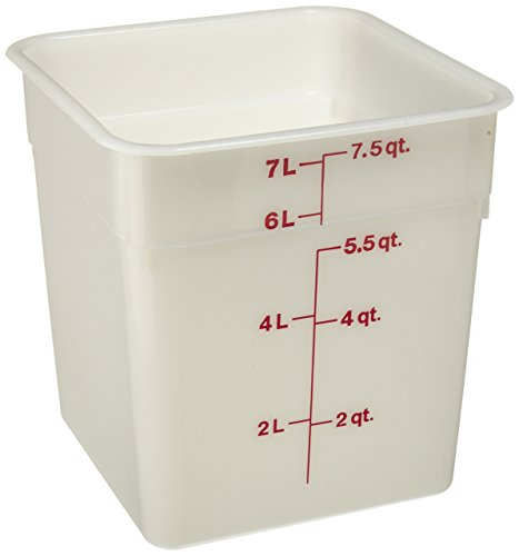 Cambro 8SFSP-148 Poly CamSquare 8 quart Food Storage