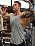 COOFANDY Men's 3 Pack Workout Tank Tops Sleeveless