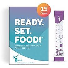 [Patrocinado] Introducción de alergias tempranas por Ready, Set, Alimentación. Añadir a la comida del bebé, leche o fórmula. Reduce el riesgo de desarrollar alergias alimentarias del bebé. Fabricado con cacahuetes, huevos, leche.