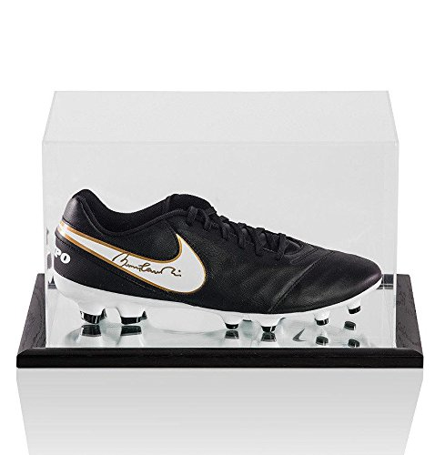 Sir Bobby Charlton Signed Football Nike Tiempo Boot - In ...