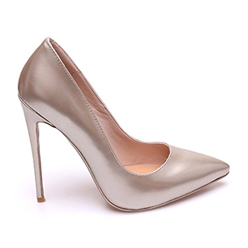 Hauts De Mariage Stiletto Chaussures Femmes Talons Pompes Toe Or Pointu Fermer Zaproma À xIfvwqq6