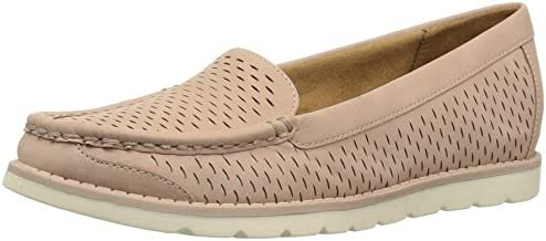 Natural Soul Women's Isla Boat Shoes Loafers Flats Taupe Brown Size 7 M