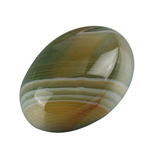 2pcs Top Quality Unique Double Colors Agate Oval Cabochon Arc Bottom Gemstone Cabochons 25x18mm #GP11