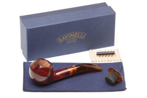 Savinelli Tortuga Smooth 673 KS Tobacco Pipe ()