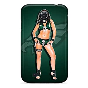 (NozwcXj3714oWKum)durable Protection Case Cover For Galaxy S4(eagles Hottie)