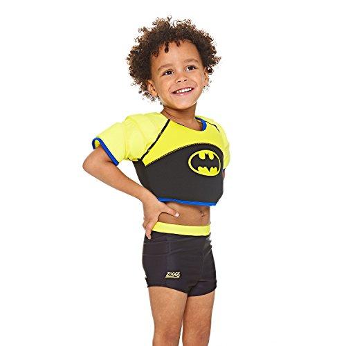 Zoggs Batman Water Wings Vest Ans/11-15kg Gilet de Sauvetage Mixte Enfant, Black, 1-2 Jahre/11-15kg