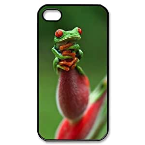 Frog Use Your Own Image Phone Case for Iphone 4,4S,customized case cover ygtg531457