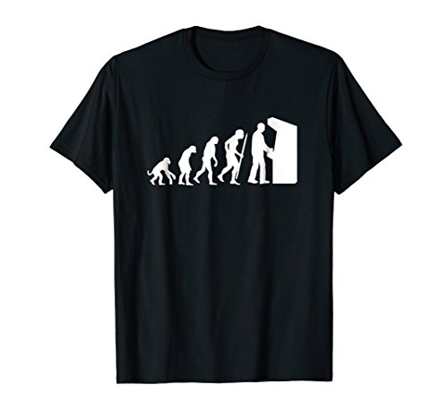 Funny Arcade Evolution arcade old school video game T-Shirt