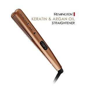 Remington Hair Straightener Nourish Styler Keratin & Argan Oil Infused