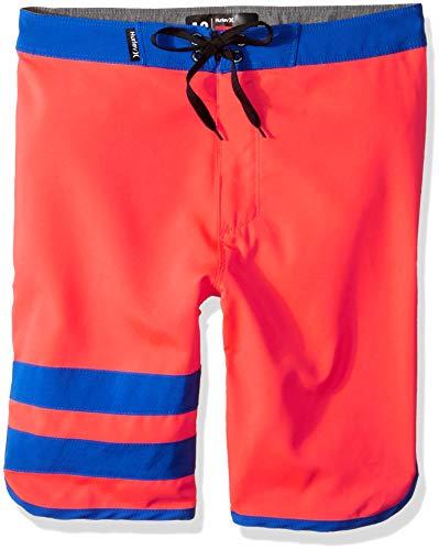 Hurley Big Boys' Stretch Board Shorts, Bright Crimson, ()