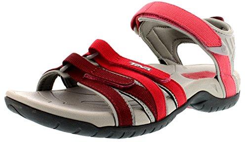 Teva Women's W Red Red Sandals Gradient Tirra PTBxOqa