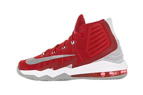 Nike Mens Air Max Audacity 2016 Basketball Sneaker 843884-600 (11, University Red/Pure Platinum/Team Red/Reflect Silver)