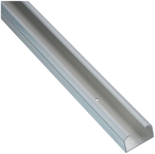 Stanley Hardware S405-110001 1652-55 Pocket Door Aluminum Track  in Clear Coated (Stanley Hardware Bypass Hangers)