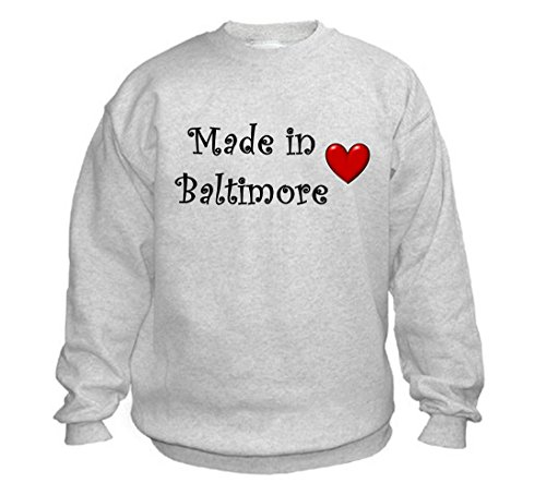 MADE IN BALTIMORE - City-series - Light Grey Sweatshirt - size XXL -