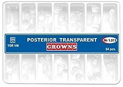 Dental Posterior Transparent Crowns Matr...