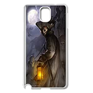 Best Quality [LILYALEX PHONE CASE] Devil Skull Art For Samsung Galaxy NOTE4 CASE-6