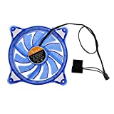 Fans - 12cm Pc Computer Case Cooling Fan Led Rgb Mute Halo Ring Hydro Bearing - Phones Desktop Kevin One Big Hold Bed Outdoor Knobs Dorm