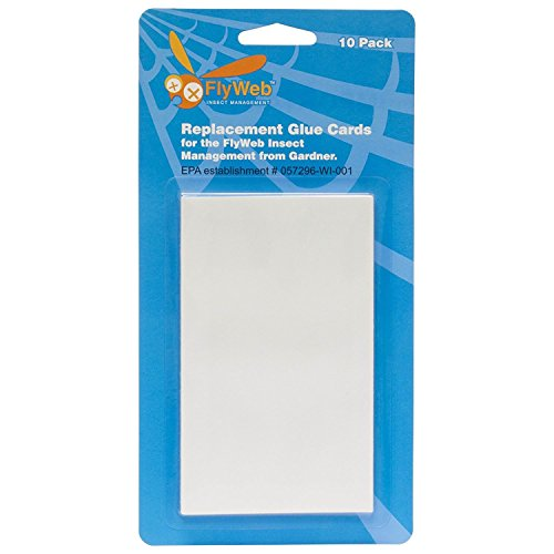 Fly Web Glue Board 10 Pack