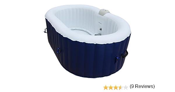 AQUAPARX Whirlpool Ap de 550spa * Redondo Diámetro 190 cm * Pool 2personen Wellness Jacuzzi SPA Whirlpool Accesorios 2P Indoor Outdoor Calefacción ...