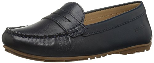 Harper leather Flat Ballet Women's navy Penny Sebago 6YqA54