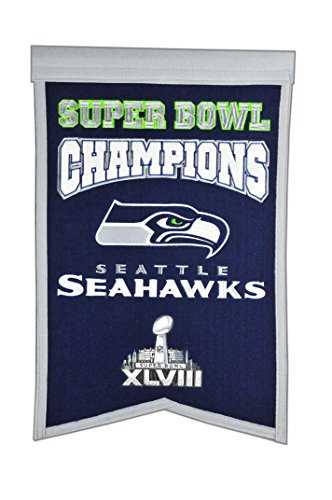 NFL Seattle Seahawks Super Bowl Champions Banner -