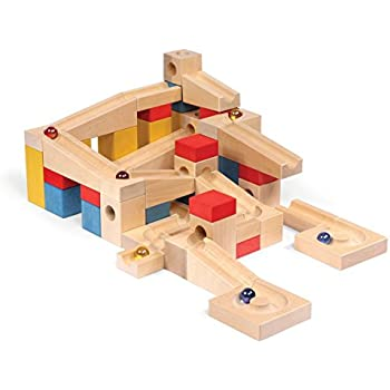 Amazon Com Tedco Wooden Block Amp Marble Master Set Age 4