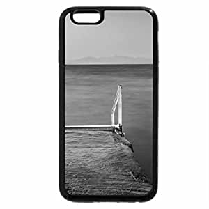 iPhone 6S Case, iPhone 6 Case (Black & White) - The Dock Of The Bay
