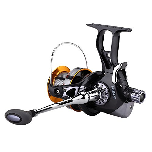 FyshFlyer New J3FR Surf Casting Reel 10+1 Aluminum Ball Bearings Front and Rear Drag System Ultimate Open Face Surf Fishing Reel plus One Spare Plastic Spool 7000 9000 Series (Casting Reel Plus)