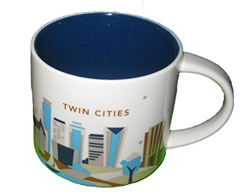 Starbucks Twin Cities You Are Here Collection Mug (011024673)