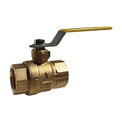 Red-White Valve 4RW5544AB Lead Free Commercial Full Port Ball Valve (2 Piece), 4''