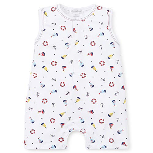 Kissy Kissy Baby-Boys Infant Summer Sails Print Sleeveless Short Playsuit-Multicolored-18-24 Months