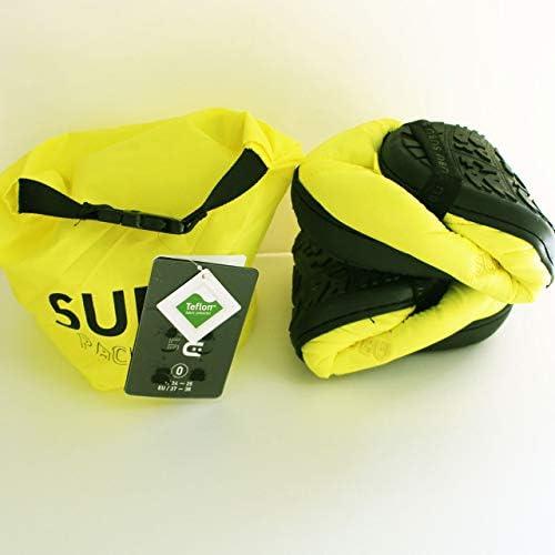 SUBU PACKBLE スブパッカブル 誰も知らない冬のサンダル 2019年 折り畳んで持ち運べるサンダル LEMON YELLOW