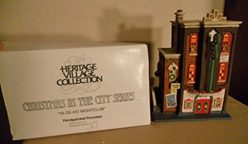 DEPT. 56 HERITAGE CHRISTMAS IN THE CITY 58884 - HI-DI-HO NIGHTCLUB by DEPT. 56 HERITAGE CHRISTMAS IN THE CITY 58884 - HI-DI-HO NIGHTCLUB