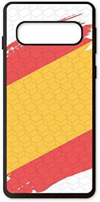 PHONECASES3D Funda móvil España Bandera para Compatible con Samsung Galaxy S10. Carcasa de TPU de Alta protección. Funda Antideslizante, Anti choques y caídas.: Amazon.es: Electrónica