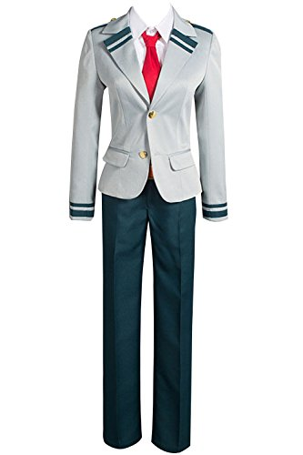 Valecos Cosplay Boku No Hero Academia My Hero Academia Izuku Blazer Costume School Uniform Full Suit (Small) ()