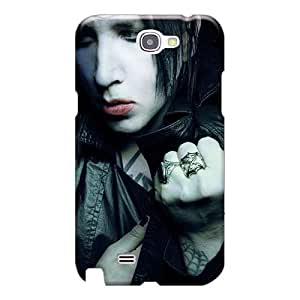 Samsung Galaxy Note 2 XFV14637GIEL Allow Personal Design Trendy Marilyn Manson Band Pictures High Quality Hard Phone Cases -PhilHolmes
