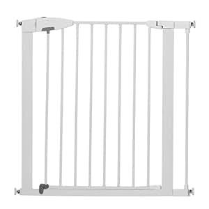Amazon Com Munchkin Easy Close Metal Gate White