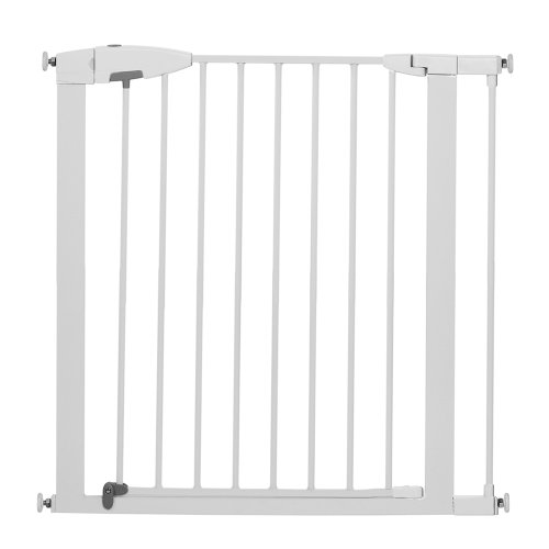 Munchkin Easy Close Metal Gate White