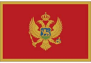Montenegro bandera nacional 90× 150cm 60× 90cm 40× 60cm 15× 21cm 3× 5pies Colgante bandera 30x 45cm bandera de coche