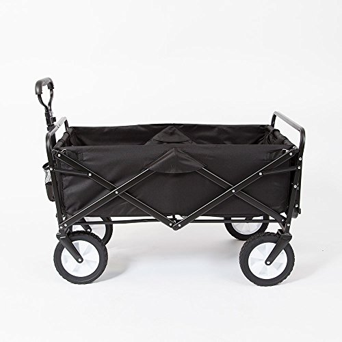 Mac Sports Folding Garden Utility Wagon w/Table, Black by MAC S P O R T S (Image #4)