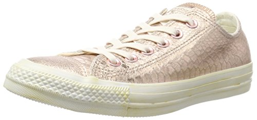 discount new discount the cheapest Converse Unisex Adults' Chuck Taylor All Star Women's Canvas Trainers Rose Metallic Snake Leather outlet sale online where can you find novnOn
