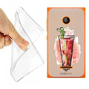 CUSTODIA COVER CASE LONG ISLAND DRINK SUMMER PER MICROSOFT LUMA 435 OPACO